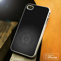 Baphomet Logo iPhone 4S 5S 5C SE 6S Plus Case