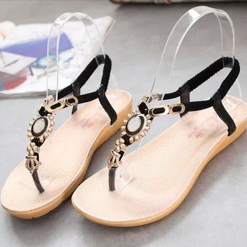 Lovely Cute Jewel Casual Sandals