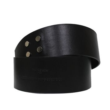 Balenciaga Couture Wide Leather Waist Belt 365358 Size: 36 in