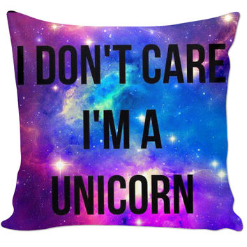 Unicorn Couch Pillow