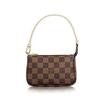 DCCKV3S Louis Vuitton Damier Ebene Canvas Mini Pochette Accessoires N58009  Louis Vuitton Handbag