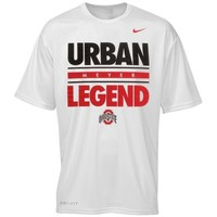 Nike Ohio State Buckeyes Dri-FIT Get Local Legend Performance T-Shirt - White