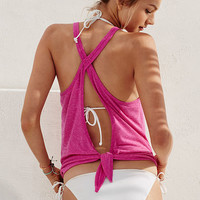 Open Knotted Tank - Vintage Tees - Victoria's Secret