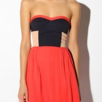 UrbanOutfitters.com > Sparkle & Fade Colorblock Dress