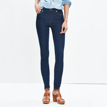 "Tall 9"" High-Rise Skinny Jeans in Davis Wash : shopmadewell extended sizes 