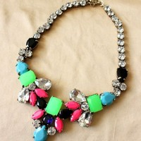 WIIPU fashion costume choker chunky statement Necklace for women jewelry(C416)