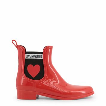 Love Moschino Women Red Ankle boots