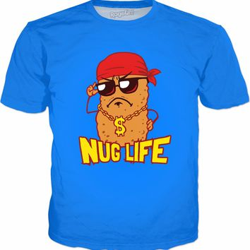 Nug Life T-Shirt | Funny Chicken Nuggets Tee