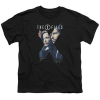 X Files X Agents Black Youth T-Shirt