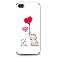 Happy Elephant and Rabbit iPhone 5 | 5S case
