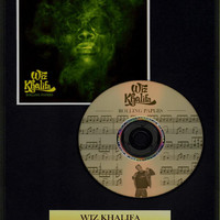 Wiz Khalifa - Framed CD Presentation Disc Display