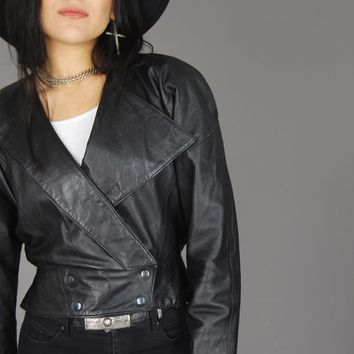 Michael Hoban North Beach Asymmetric Leather Jacket