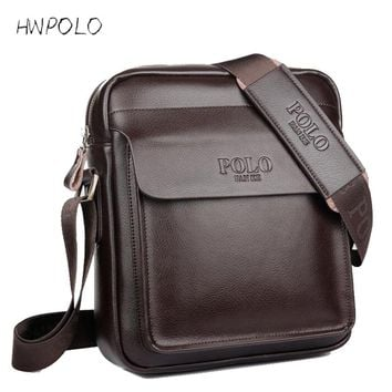 fashion men messenger bag men leather shoulder bag