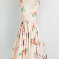 Fairytale Long Sleeveless Fit & Flare You Haute to Be There Dress by BB Dakota from ModCloth