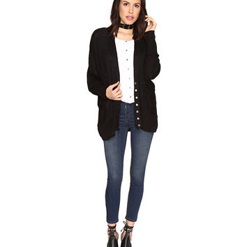 Free People Days Like This Cardigan Black - Zappos.com Free Shipping BOTH Ways