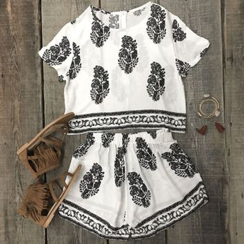 Simply Cute Boho Two-Piece