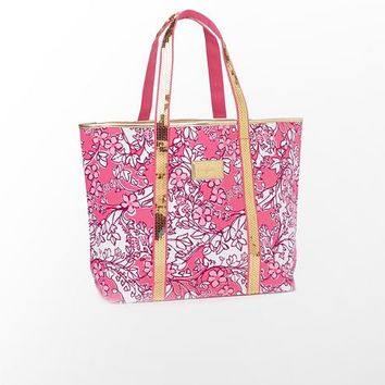 Sparkle Tote - Alpha Phi - Lilly Pulitzer