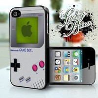 Gameboy Nintendo Game Funny Phone Case - Apple iPhone 4 4s Hard Case Cover
