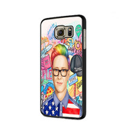 collage art youtubers Samsung Galaxy S6 | S6 Edge Cover Cases