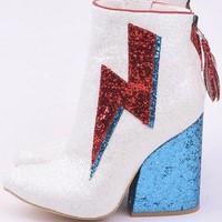 So 70's Glam Rock Ziggy Boots - 2 Colors Limited Sizes
