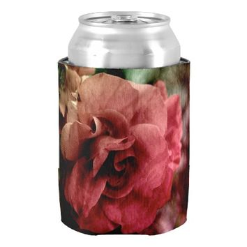 Rose Can Cooler