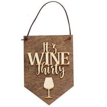 Gifts for Wine Lover - Wood Wall Sign