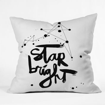 Kal Barteski Star Bright Throw Pillow
