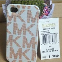 Michael Alphabet Hard Case for Iphone 5, Iphone 5s - White