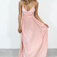 Masterpiece Pink Maxi Dress