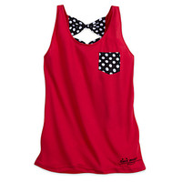 Minnie Mouse Signature Tank Top for Women | Disney Store