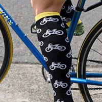 Socks » Socks » Sock It To Me Knee High Bikes « Sock Dreams
