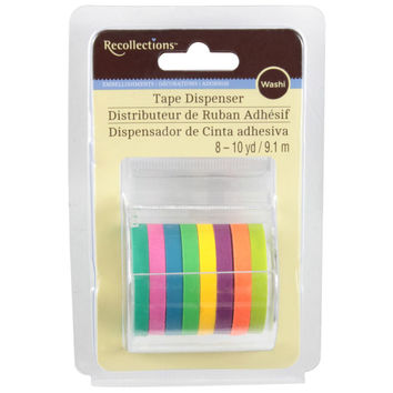 Recollections™ Washi Tape Dispenser, Neons