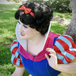 SALE Snow White Wig Flapper Betty Boop Adult by littlepennylane