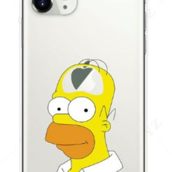 Homer v4 Silicone Protective Iphone Case