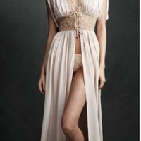 Vanity Table Peignoir in  the SHOP Lingerie at BHLDN