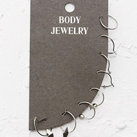 Mini Hoop Earrings Pack - Urban Outfitters