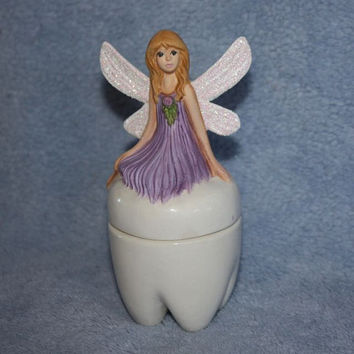 Tooth Fairy Treasure Box by FlutterbyConnections on Etsy