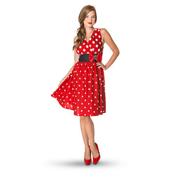 Disney Minnie Mouse Sleeveless Dress for Women | Disney Store