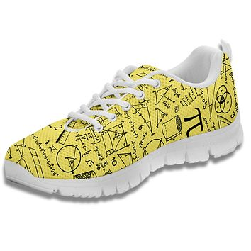 Math Pattern Sneakers-Clearance