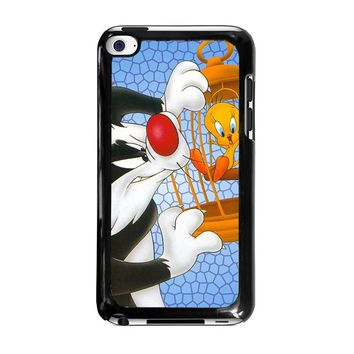 SYLVESTER AND TWEETY Looney Tunes iPod Touch 4 Case Cover