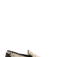 Giuseppe Zanotti Ssense Exclusive Silver And Black Snakeskin Berdyk Slip-on Sneakers