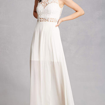 Soieblu Crochet Maxi Dress