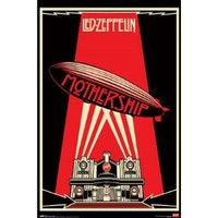 Led Zeppelin Poster - Mothership - Hot Rare New 24x36