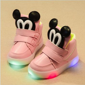 Baby Mickey Mouse LED Shoes