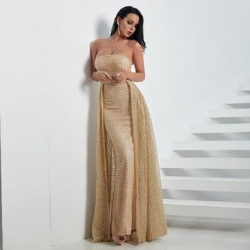 Yanny Dress - Gold
