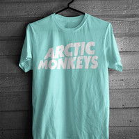 Arctic Monkeys Tshirt Aqua