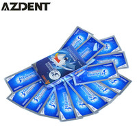 14 Pouch/28pcs AZDENT Professional 3D Teeth Bleaching Gel  Advanced Whitening Teeth Whitening Strips Tooth Whitener Oral Hygiene