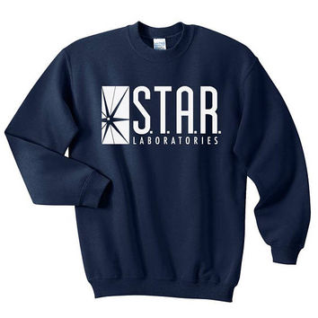STAR Laboratories sweatshirt - Team Flash - STAR Labs crewneck - Star lab hoodie - Star Labs sweatshirt - Star Labs hoodie