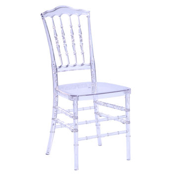 Acra Dining Chair, Clear