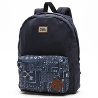 Vans Old Skool II Backpack (Navy Bandana)